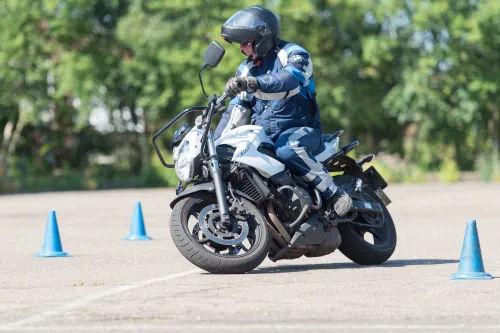 Motorrijbewijspoint Delft motor rijtest