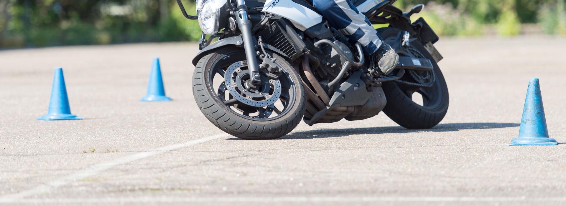 Motorrijbewijspoint Delft rijtest